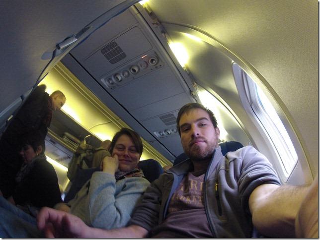 Der Flug von Amsterdam nach Rom