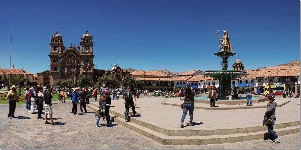 Panoramabild 3-Peru